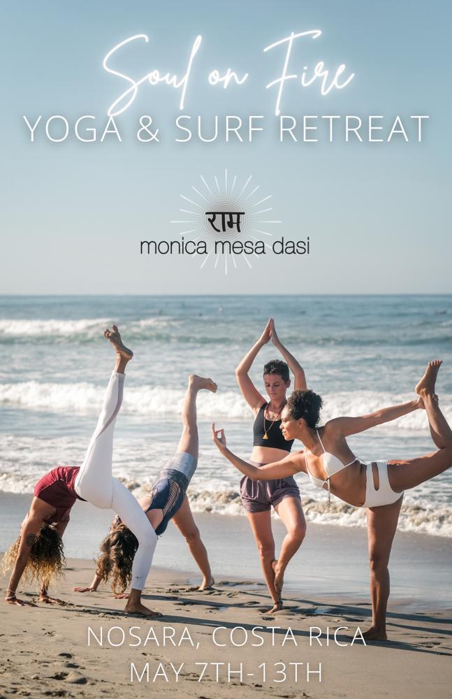 SOUL ON FIRE Women's Yoga + Surf Retreat