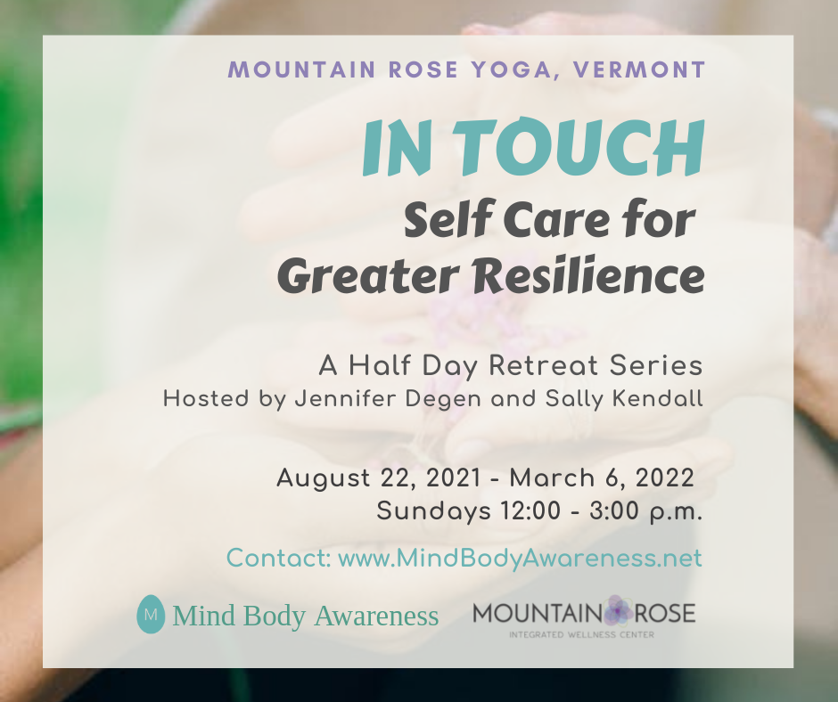 IN TOUCH: Self Care for Greater Resilience